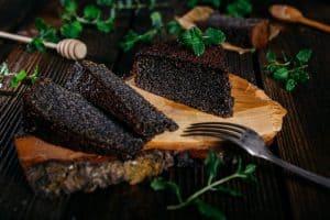 Makovo – orechový koláč bez múky 1